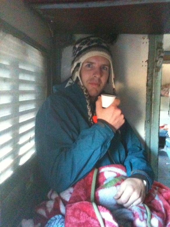 Gettin' a little possessive of his chai